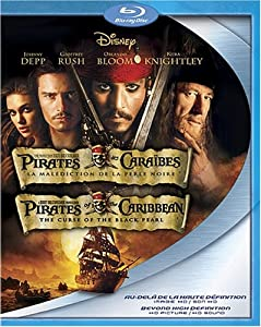 Pirates of the Caribbean: The Curse of the Black Pearl (Version française) [Blu-ray]