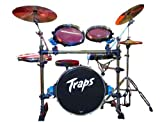 Traps A400 NC Portable Acoustic Drum Kit/ No Cymbals