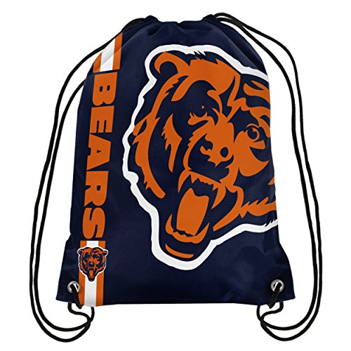 NFL Chicago Bears 2015 Drawstring Backpack, Blue (Backpacks Good For Back compare prices)