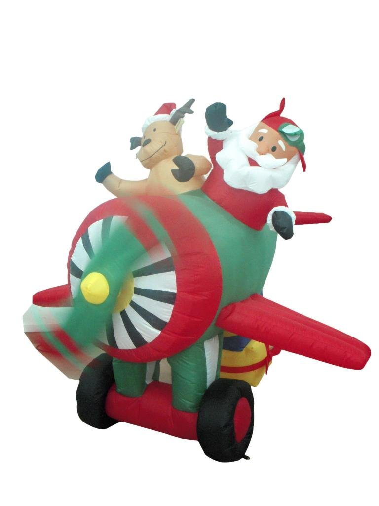 inflatable helicopter santa with Santa Airplane Helicopter And Balloon on Funny librarian t shirt 235190234827871882 likewise Inflatablechristmasdecorations further I love drake t shirts 235064454805225828 additionally Yard D C3 A9cor additionally Printthread.