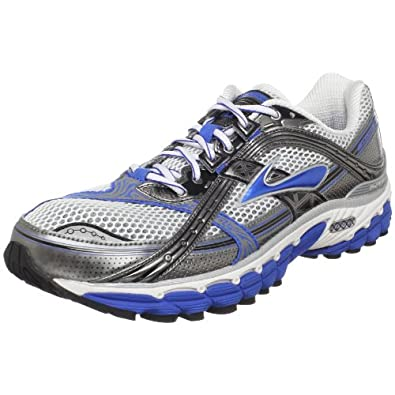 Brooks Men's Trance 10 Runnning Shoe,Bright Navy/Metallic Pavement/White/Black,7 D US