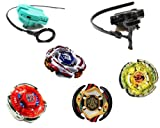 Toy - TOP-FLIGHT RAPIDITY - 4-er MEGA SET - Kreisel f�r Beyblade Metal Fusion Arena -