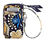 Vera Bradley All in One Wristlet in Ellie Blue