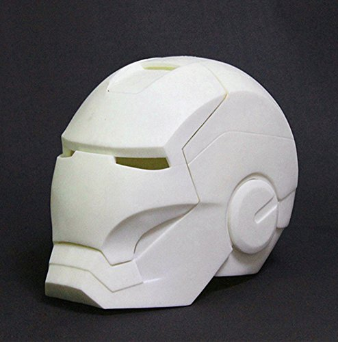 Gmasking Iron Man MK3 Helmet Collectibles No-Paint 1:1 Replica+Gmask Keychain