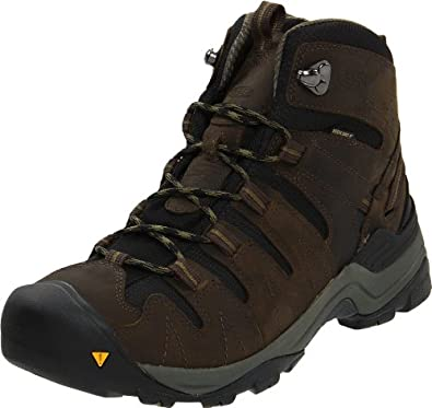 KEEN Men's Gypsum Mid Waterproof Hiking Boot,Black Olive/Capulet Olive,8 M US