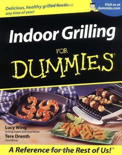 Indoor Grilling For Dummies front-281622