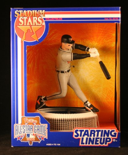 CAL RIPKEN JR. / BALTIMORE ORIOLES 1996 MLB Stadium Stars Starting Lineup Deluxe 6 Inch Figure with 1996 All-Star Game Veterans Stadium Display Base