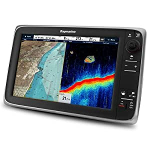 Raymarine c127 Multifunction Display w Sonar - No Preloaded Charts by Raymarine