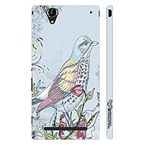 Enthopia Designer Hardshell Case Pisces Blue Back Cover for Sony Xperia T2 Ultra
