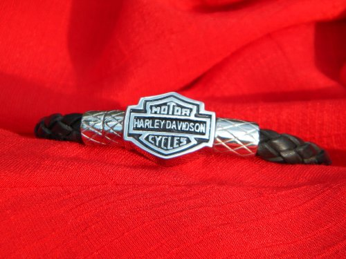 Leather Motorcycle Biker Harley Davidson Bracelet
