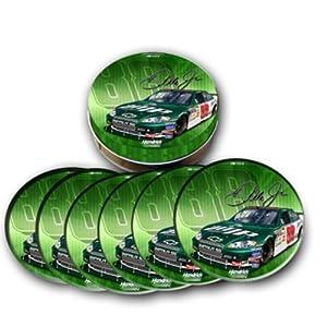Amazon.com : Racing Reflections Dale Earnhardt, Jr Tin Coasters : Baby