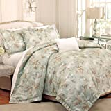 Raymond Waites Soiree 5 Piece King Comforter Set Blue / Multi