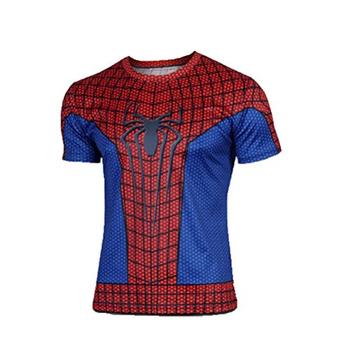 Samanthajane Clothing -  T-shirt - Uomo Multicolore Spider man Medium