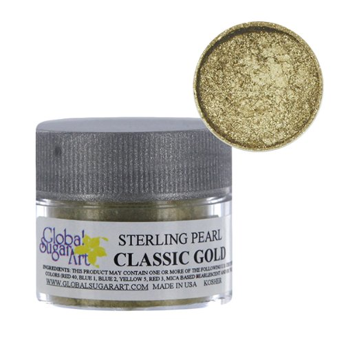 Classic Gold Sterling Pearl Dust by GSA