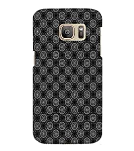 EPICCASE ethnic circles Mobile Back Case Cover For Samsung Galaxy S7 Edge (Designer Case)