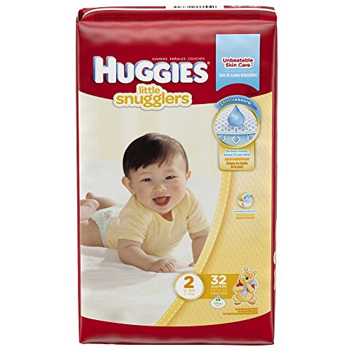 Huggies Little Snugglers Diapers - Size 2 - 32 ct - 1
