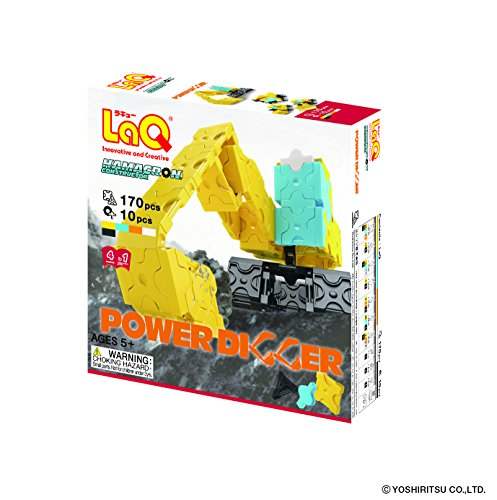 LaQ Hamacron Constructor 3D Power Digger Model Building Kits