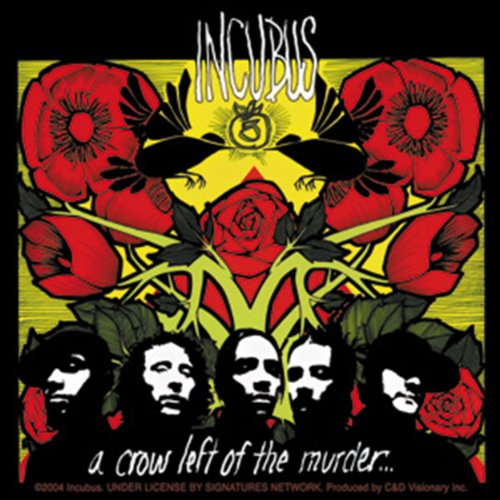Licenses Products Incubus Album Sticker