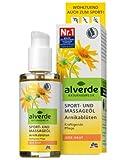 #8: Alverde Sport- und Massageöl Arnikablüten, 3er Pack (3 x 100 ml)
