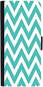 Snoogg Simple Blue Wave 2531 Designer Protective Phone Flip Case Cover For Lenovo Vibe S1