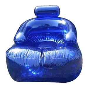 Aufblasbarer sessel blow blau k che haushalt for Aufblasbarer sessel 90er