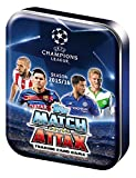 UEFA Champions League 2015/2016 Topps Match Attax Soccer Card Collectors Tin