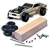 Woodland Scenics Pine Car Derby Car Kit, Basic