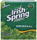 Irish Spring Deodorant Soap Original Bar, 3 Count 3.75 Ounce