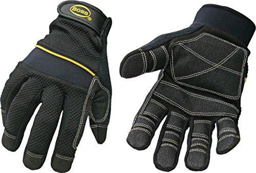 boss-5202-m-mehrzweck-gepolsterte-knuckle-utility-handschuh-mittel-schwarz-mit-gelb-streifen