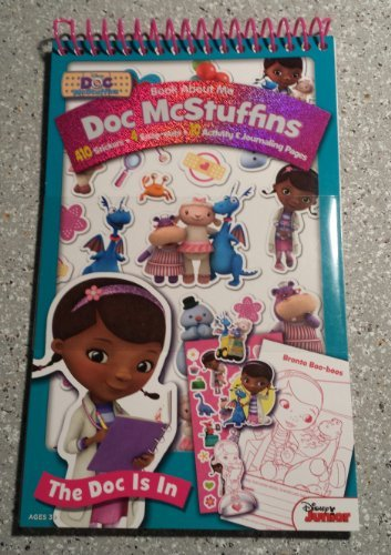 Artistic Studios Book About Me: Doc McStuffins The Doc Is In - 1
