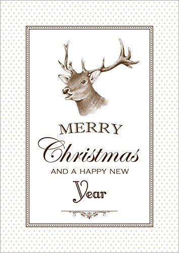 Erh ltlich im 1er 4er 8er set klappgrusskarte for Text weihnachtskarte englisch