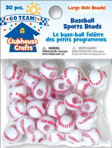 Sulyn Clubhouse Sports Beads: Baseball - 1