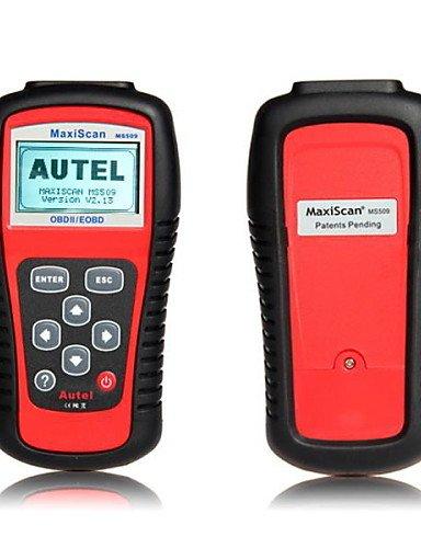 die mehrsprachige Unterstützung Autel Maxiscan MS509 OBD2 Codeleser-Scanner-Auto-Diagnosewerkzeug