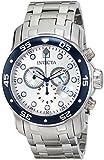 Invicta Men's 80058 Pro Diver Analog Display Swiss Quartz Silver Watch