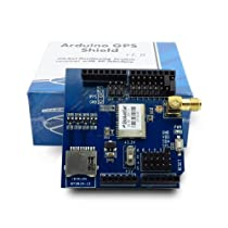 Arduino GPS Shield & Active GPS Antenna Bundle