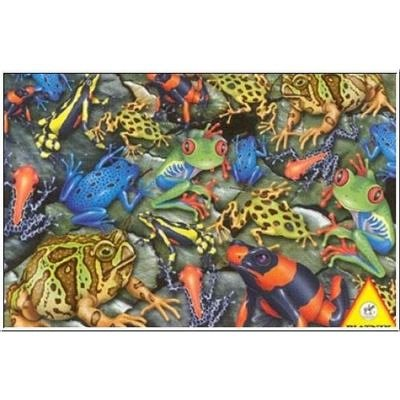 Cheap Piatnik Frogs Jigsaw Puzzle 1000pc (B0002HY6QK)