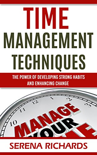 Time Management Techniques by Serena Richards ebook deal