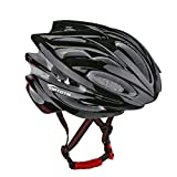 Leadtry HM-1 Bicycle Helmet Ultralight Integrally Molded EPS Bike Helmet Safety Helmet Specialized for Road/ Mountain Terrain Bicycle with Comfortable Removable Washable Antibacterial Pads