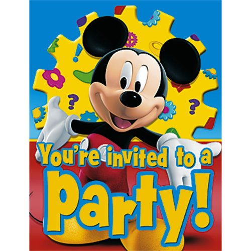 Mickey's Clubhouse Invitations, 8ct