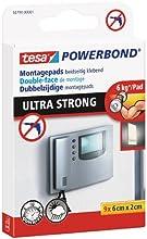 tesa doppelseitige Montagepads, Powerbond ULTRA STRONG, hält max. 6 kg, 9 Stück