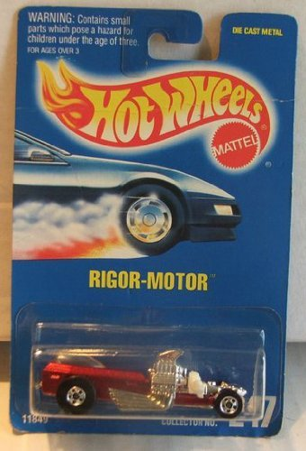 Mattel Hot Wheels Rigor Motor 247 blue card 1991 - 1