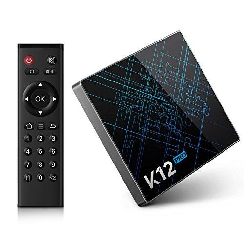 Smart TV Box Bqeel K12 Pro Android 6.0 TV Box mit Amlogic S912 Octa Core CPU / 2GB DDR3 + 32GB eMMC / vorinstallierter KODI 16.1 / Gigabit LAN / Dual-Band WiFi / Bluetooth 4.1 / OTA-Update-Funktion / 4K HD/ 3D / USB / HDMI Streaming Media Player
