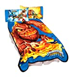 Activisions Skylanders Gaming Monster Microraschel Blanket, 62 by 90-Inch