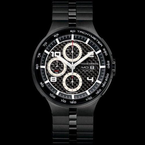 Porsche Design Watch Flat 6 P'6360 Automatic Chrono - Carbon Fiber