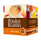 Nescafe Dolce Gusto Caffe Lungo, 16-Servings (Pack of 3)