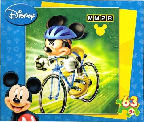 Disney Mikey Mouse Biking & Baseball Interlocking Pieces - 1