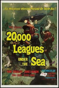 20000 Leagues Under The Sea Movie Poster 61cm x 91cm 24inx36in