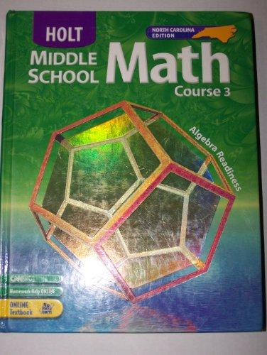 Holt Middle School Math, Course 3: Algebra Readiness PDF