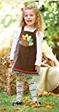 Mud Pie Thanksgiving Turkey Jumper & Tights (12-18 Months)