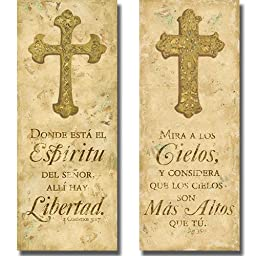 Espiritu & Cielos by Tiffany Hakimpour 2-pc Premium Stretched Canvas Set (Ready-to-Hang)